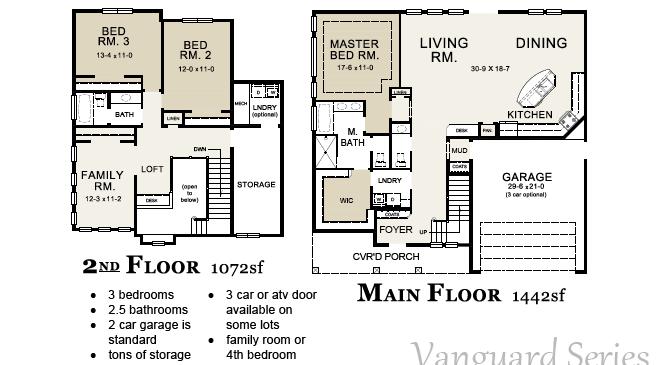 dahlia floorplan
