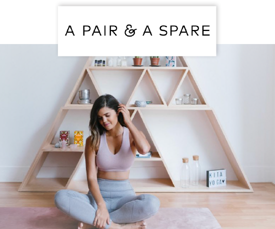 A Pair & A Spare,  how gorgeous is this yoga studio???""