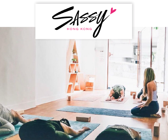 "Sassy, ""What I love about the studio is that it's space is not just about yoga but also gathering positive energy and self-love."""
