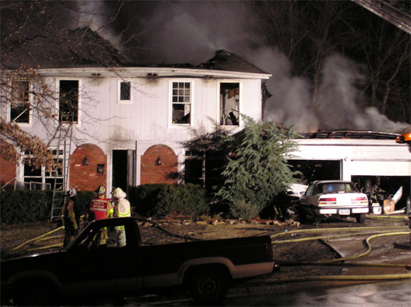 House Fire Before Kansas City Phoenix Renovation