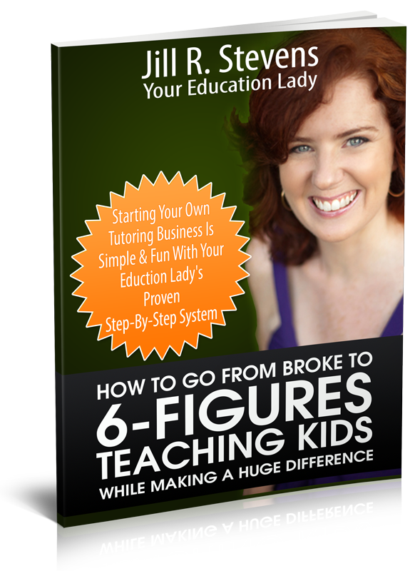 Jill's 6-Figure Teaching Kids Book