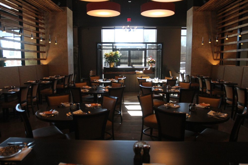 BRUNCH MENU for West Des Moines Restaurant Blu Toro Cantina + Grill Menu Restaurant interior