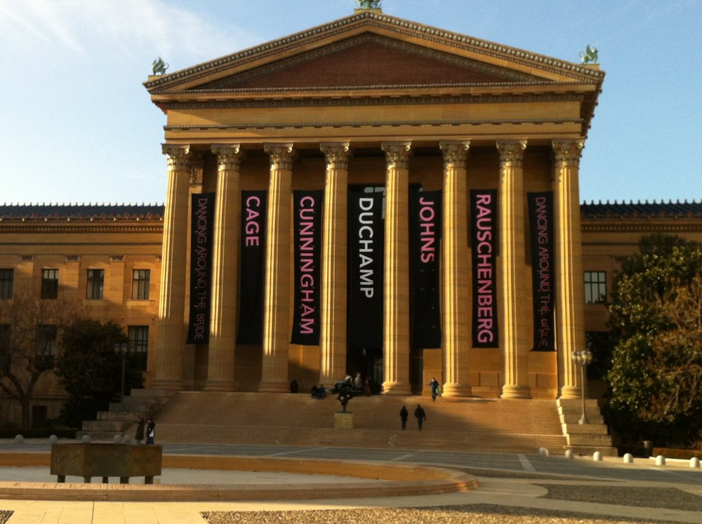 Philadelphia Museum of Art. I love this place. Visit if you can!