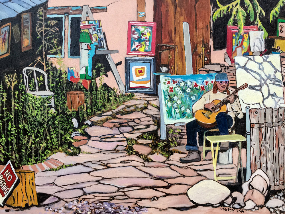 The Artist - Canyon Road Memories - 8x10 Giclee Print Available