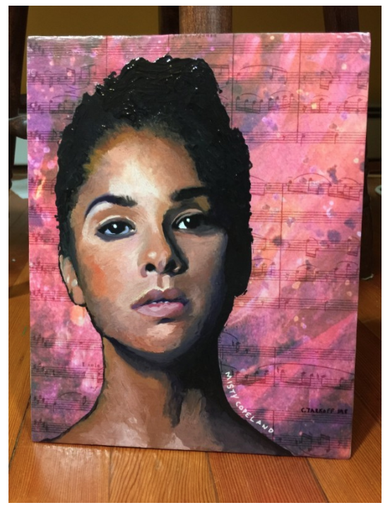 Misty Copeland Portrait