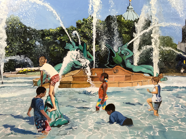 Summer Fun - Philly Fountains