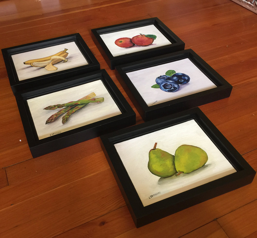 """My """"From Your Kitchen"""" Series is Framed and ready to hang in your home!"""