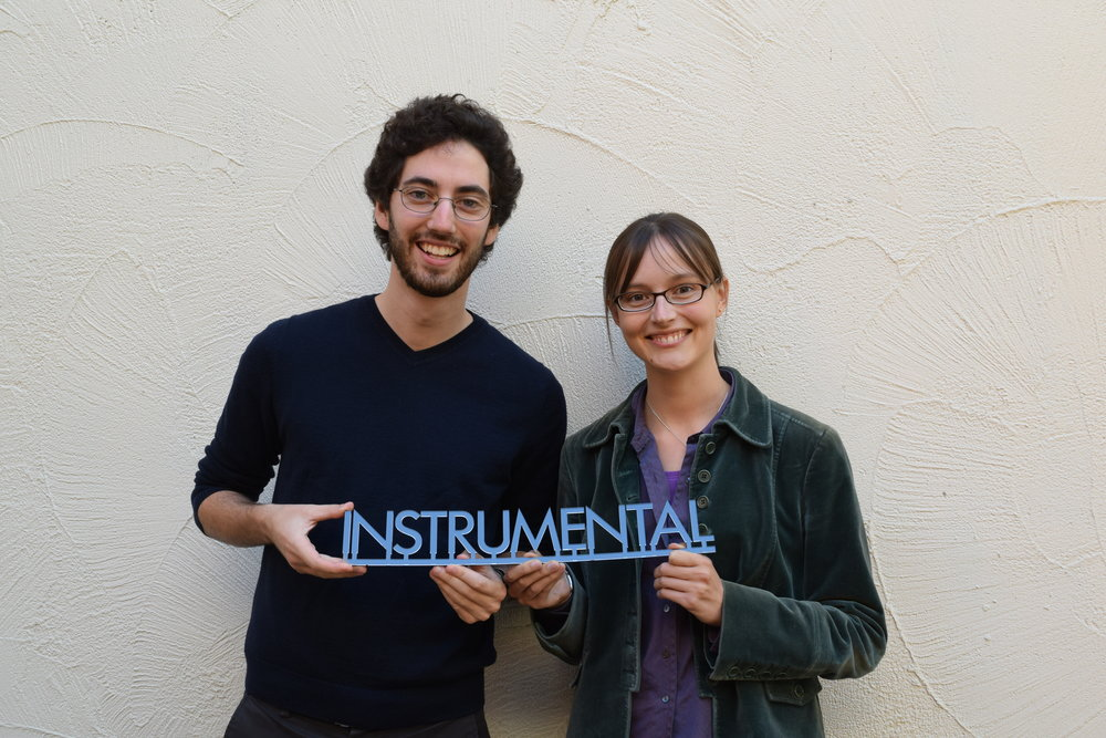 Instrumental founders, Sam Weiss and Anna Shedletsky