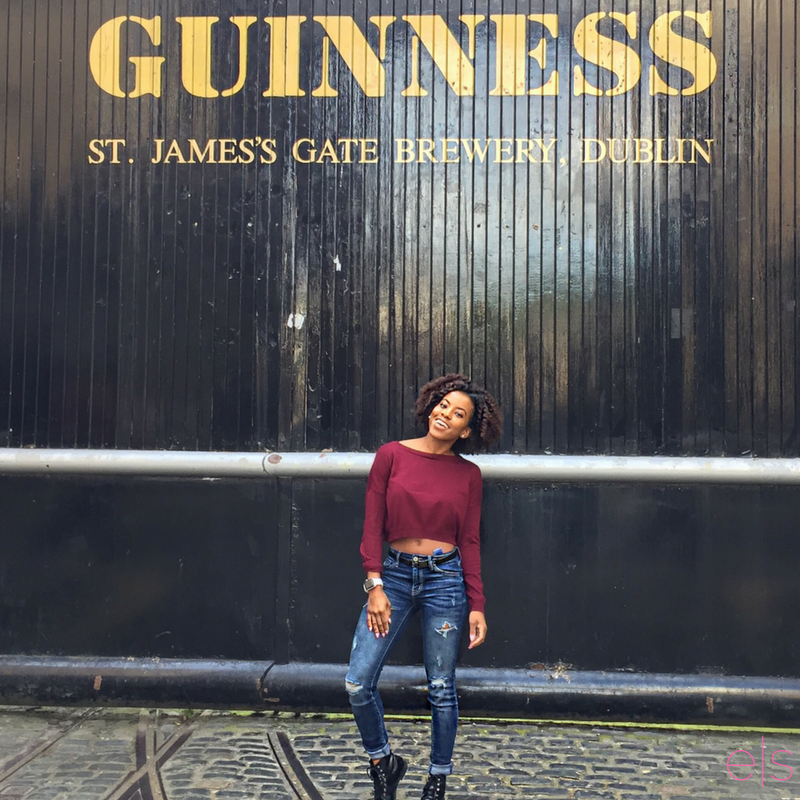 At the gates of the Guinness Storehouse | Dublin, Ireland