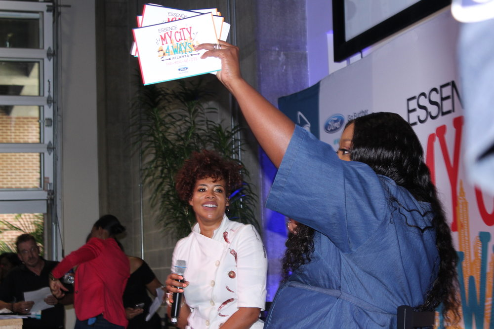 Chef Kelis and comedienne Loni Love