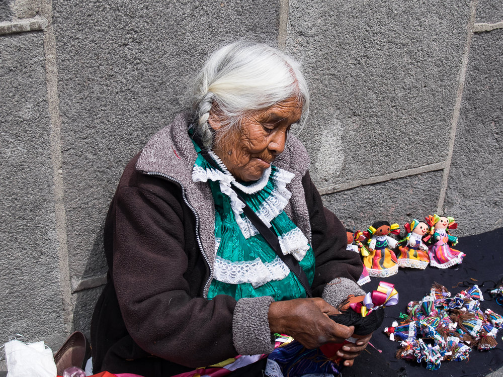 Doll Maker, Puebla, Mexico