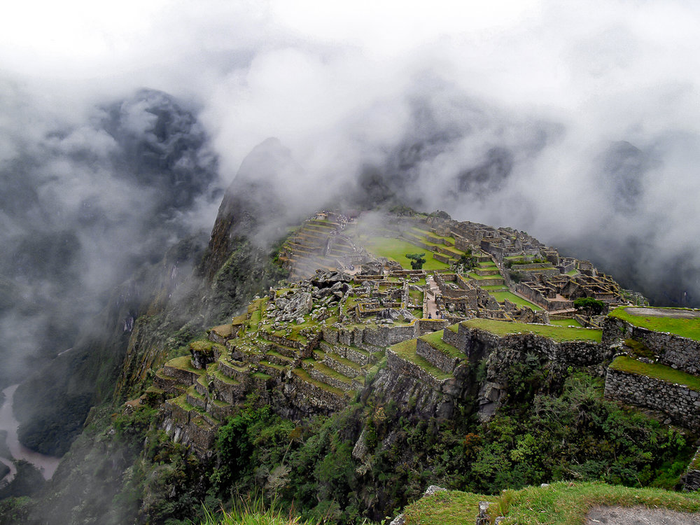 Machu Picchu in the Mist, Peru