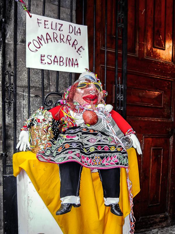Feliz Dia, Comarrrre Esabina, Cusco, Peru