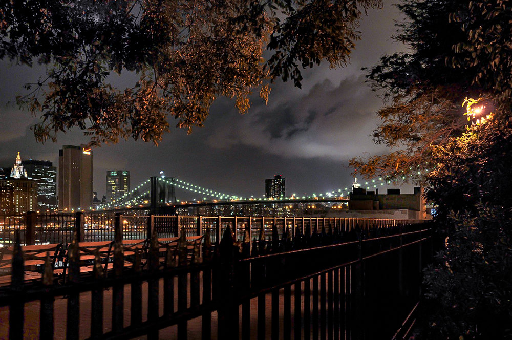 Brooklyn Bridge from the Brooklyn Promenade, New York