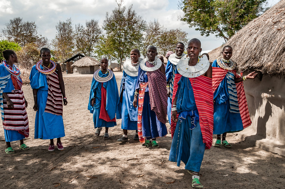 Group of Maasai Women 2, Tanzania