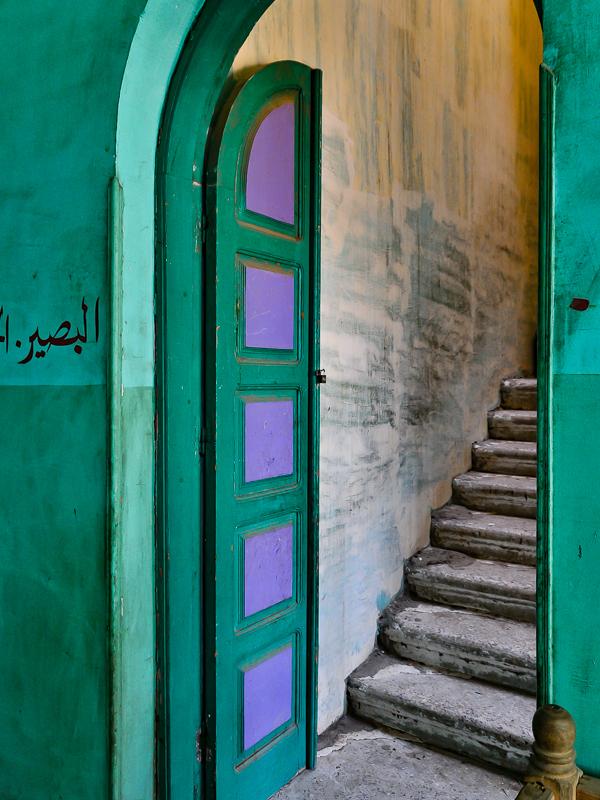 Green and Purple Door Luxor Egypt & Doors Windows \u0026 Balconies \u2014 Sandra Belitza-Vazquez Photographic Artist