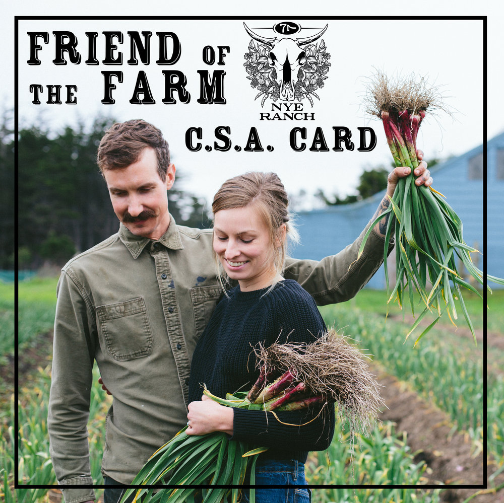 Thank you for supporting your local farmers! - - Kyle & Mel