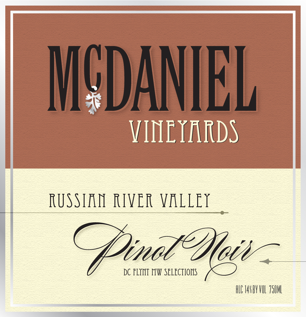The Russian River Valley AVA is one of California's best-suited regions for the production of Pinot Noir.  Here the long days of sunshine develop ripe black cherry and strawberry notes.  The Pacific Ocean brings cool evening temperatures to the valley through the Petaluma gap to add crisp bright acidity to balance the concentrated fruit of this Russian River Valley Pinot Noir.