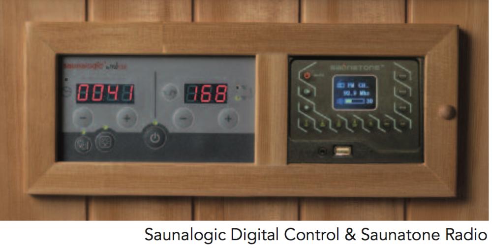 Saunalogic Digital Control & Saunatone Radio