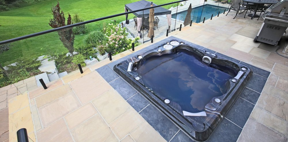 "All hot tubs aren't created equally in terms of comfort, so it's essential to evaluate each model carefully. Ask the dealer if you can sit in the dry hot tub or request a ""wet test"" where you sit in the tub while it's full. Notice what it feels like to sit in the hot tub. Is it large enough and is there enough room for everyone to sit comfortably? Does leaning against the jets cause discomfort? Are the seats themselves comfortable? Ergonomically designed seats that fit your body's shape and multi-level seating that accommodates all body types are always a plus. Non-floating lounger seats that allow you to recline with your feet still on the floor can also improve your comfort level. Safety steps providing easy entry are another important consideration."