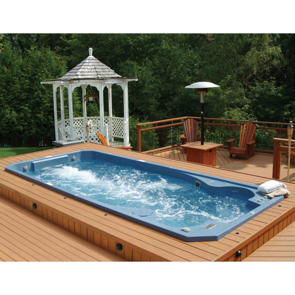 Hhydropool aquatrainer harbor hot tubs