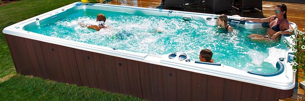 swim spa design