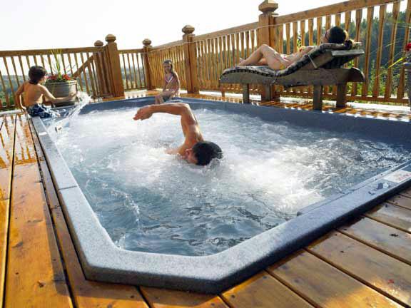 energy efficient swim spa