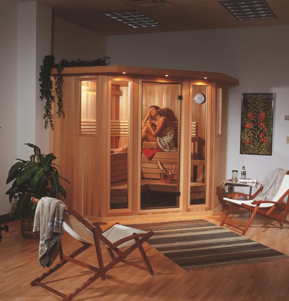Indoor Sauna Installation
