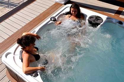 Hydropool hot tubs