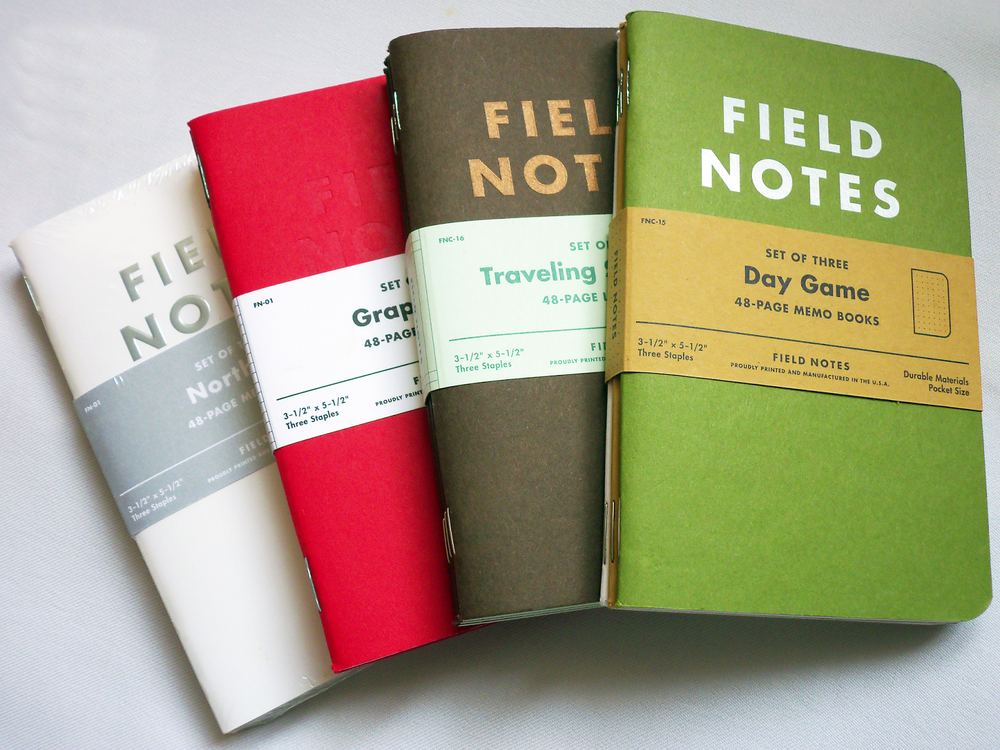 Field Notes Notebooks -