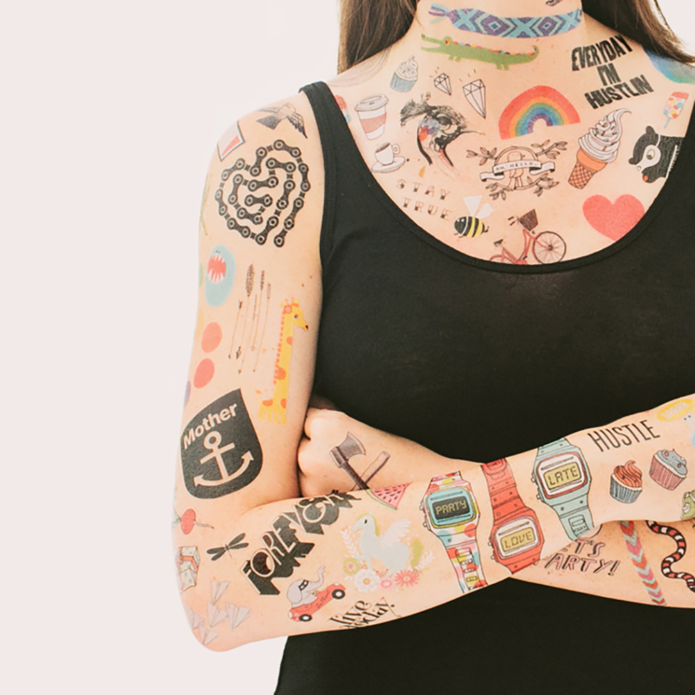TattlyTemporary Tattoos -