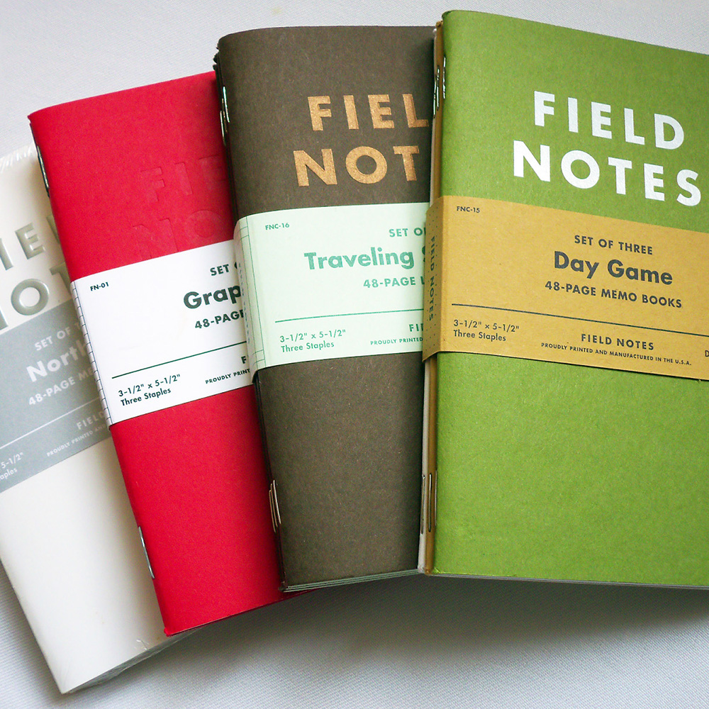 Field NotesNotebooks -