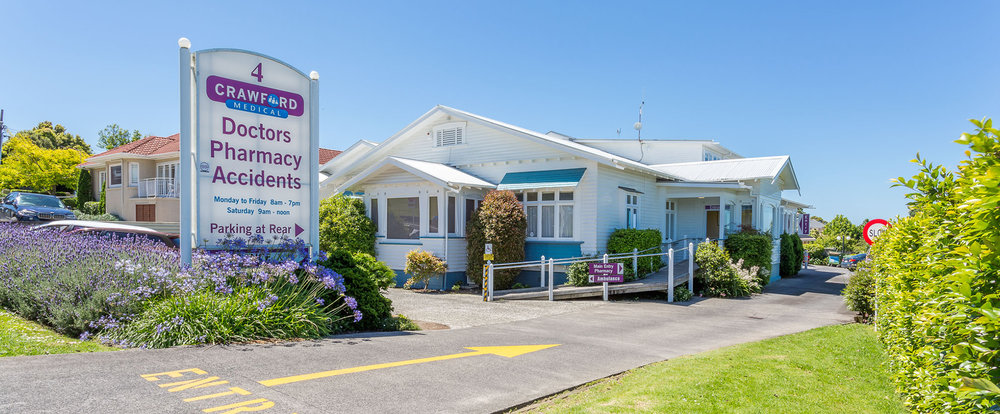 Welcome to Crawford Medical Centre - Unfunded Flu Vaccine is Now Available 11am-2pm daily - our practice will be closed over the Easter break
