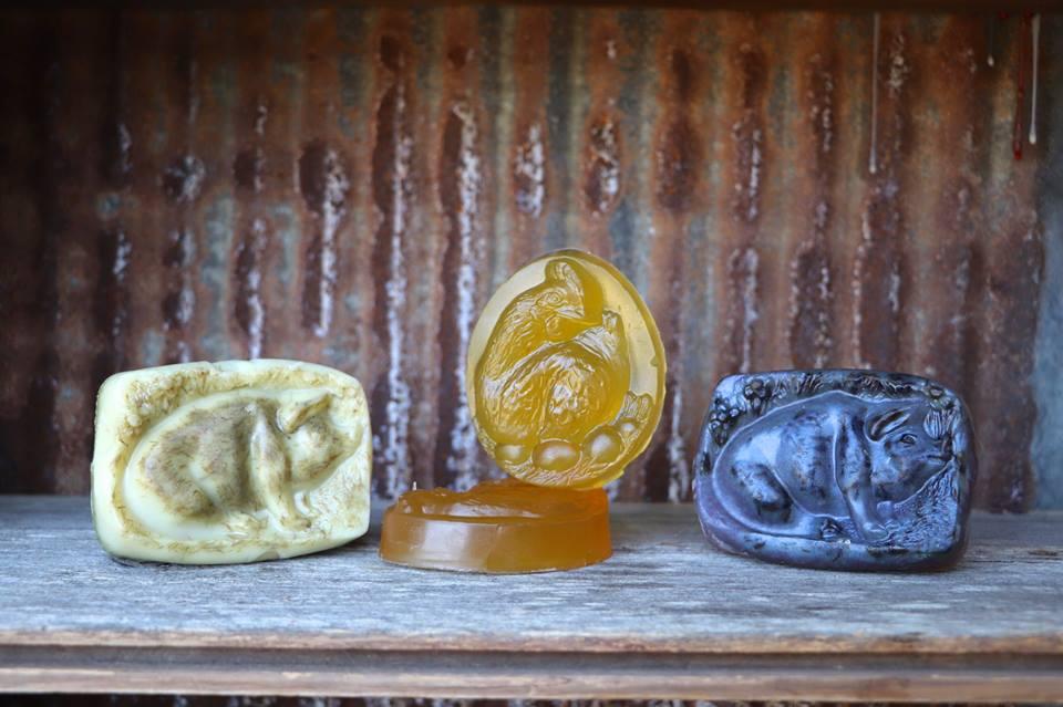 Pampered Piggy Bar Soap
