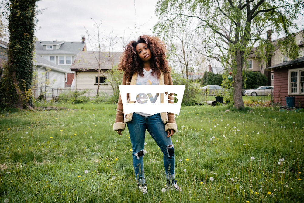 SZA for Levi's Music Project
