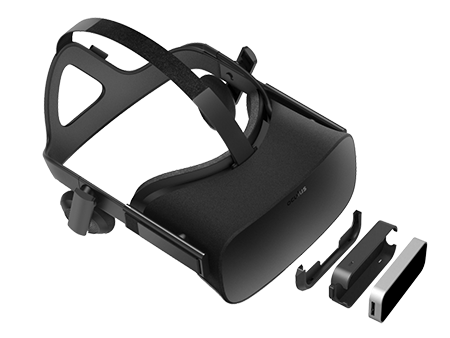 @@@@ Leap Motion Controller and Oculus Rift, exploded view @@ Leap Motion 控制器与 Oculus Rift,分解图 @@ Leap Motion ControllerとOculus Rift、分解図 @@@@