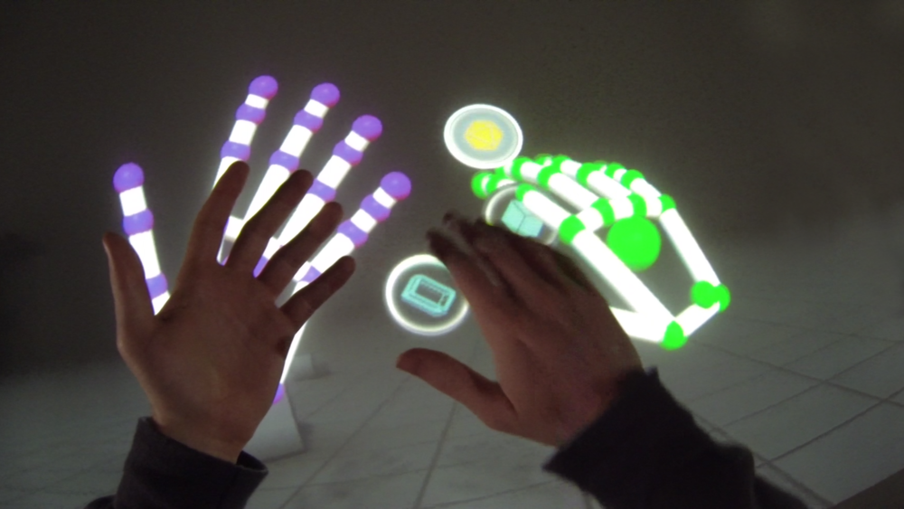 Leap Motion Orion Blocks Demo Arm HUD.png
