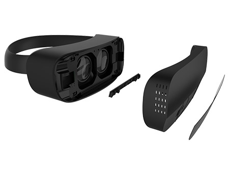 @@@@ Leap Motion Mobile VR Platform, exploded view @@ Leap Motion 移动 VR 平台,分解图@@ Leap Motion Mobile VR Platform、分解図 @@@@