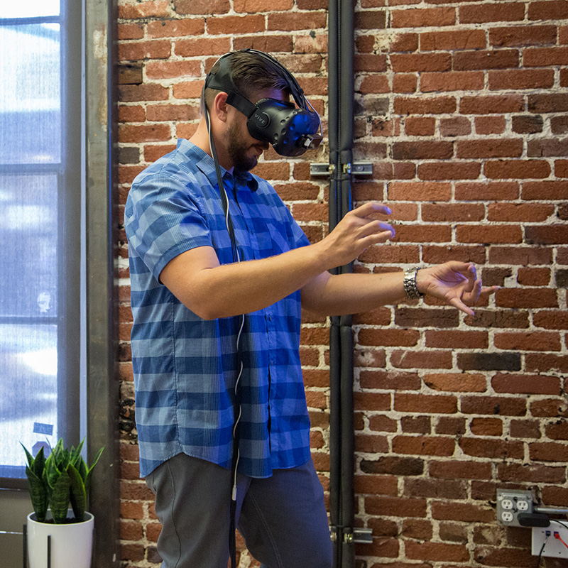 """Fast, intense, and meaningful... working at Leap Motion means solving a fundamental problem in VR/AR."""