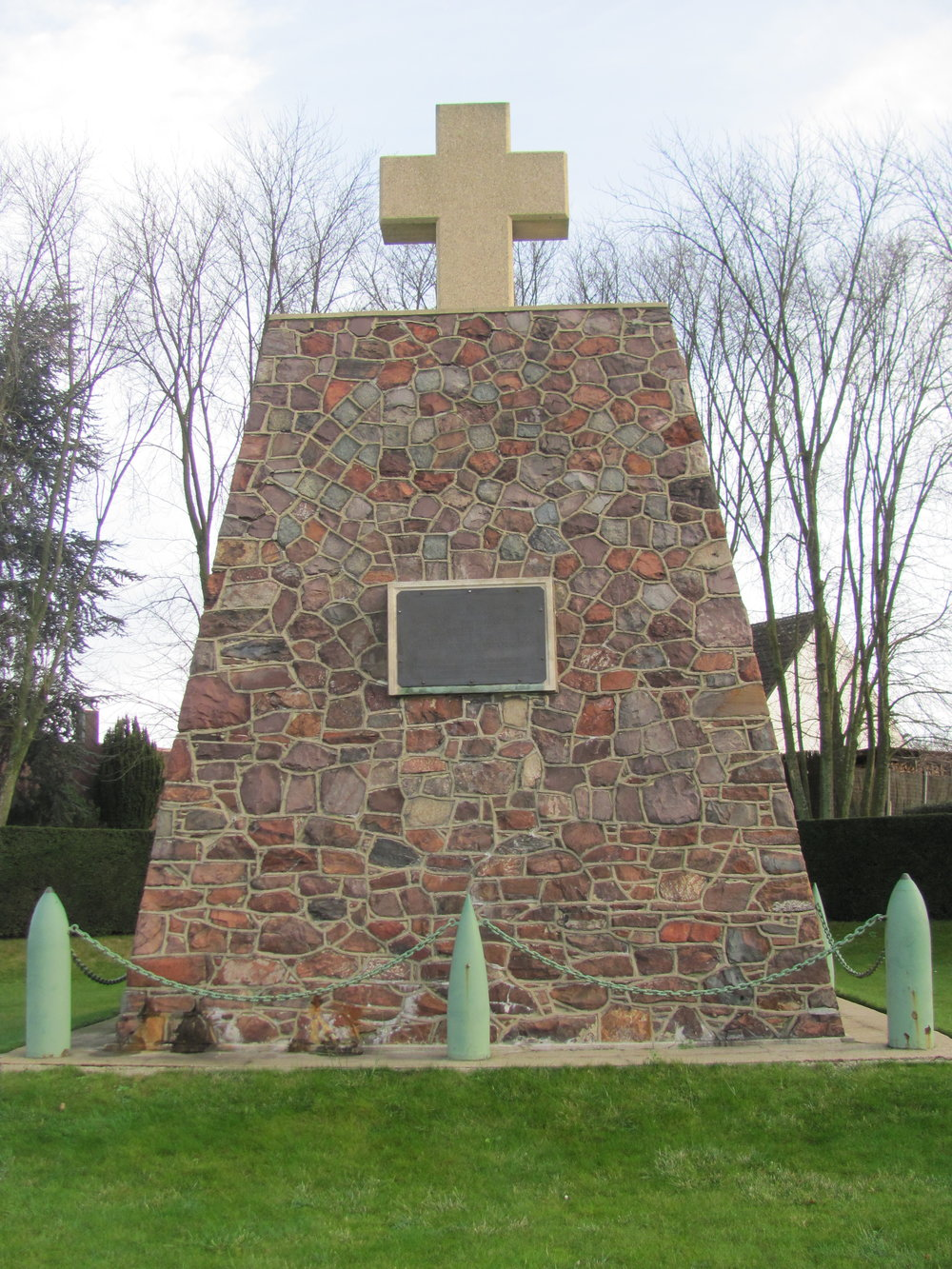 Canadian Artillery Monument at Thelus