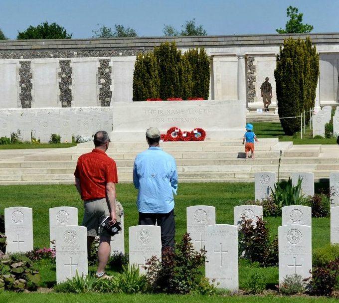 Tyne Cot Commonwealth Cemetery, Belgium