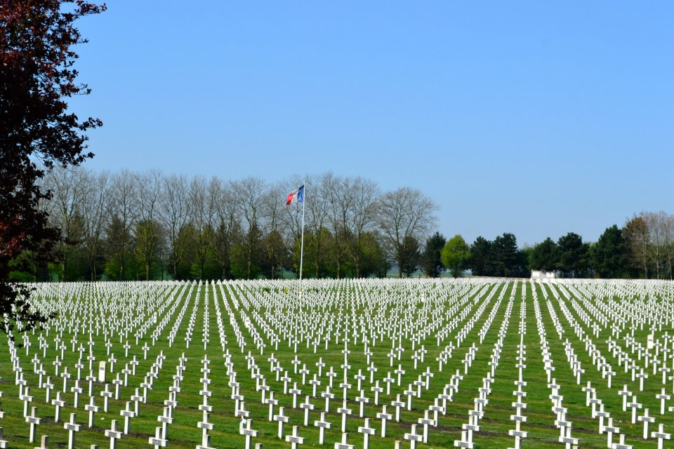 French Cemetery, La Targette, France