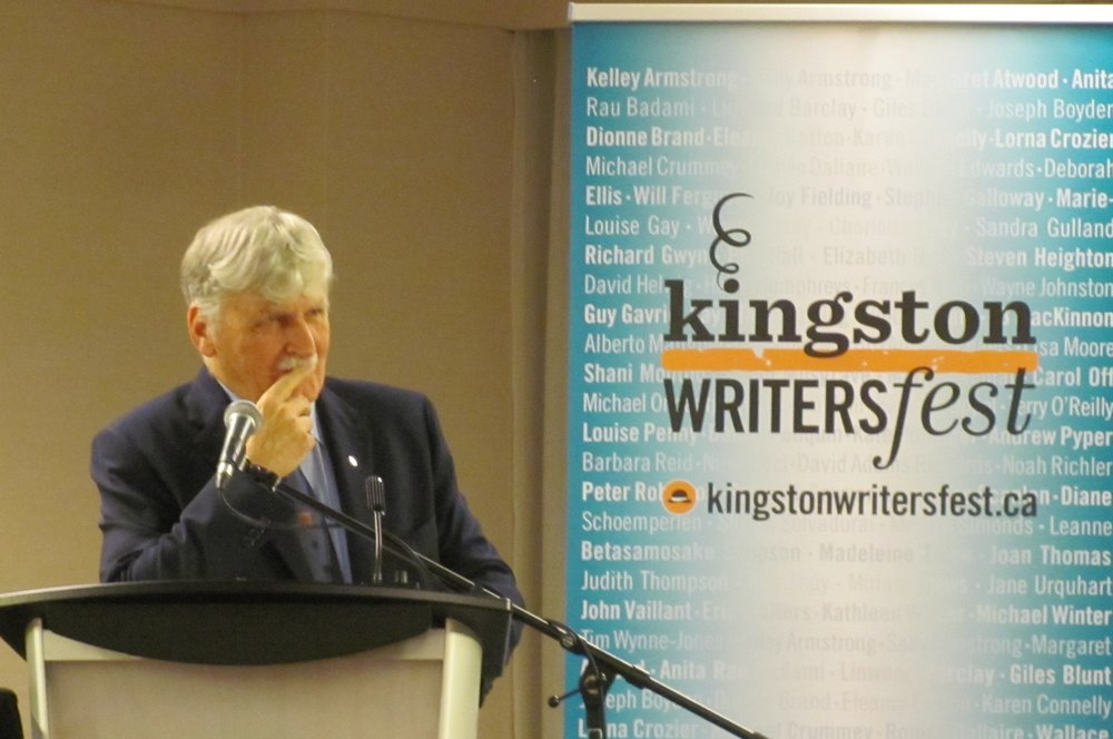 Romeo Dallaire  Waiting for First Light: My Ongoing Battle with PTSD (co-author Jessica dee Humphreys)  book launch
