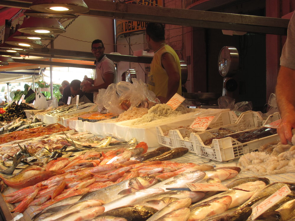 Fish market, Siracusa