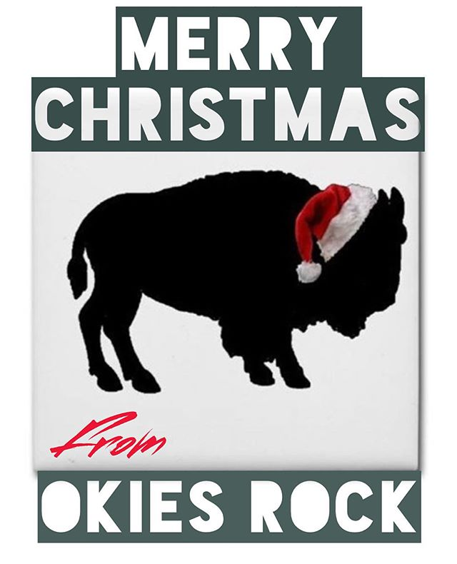 Merry Christmas, Y'all!!! You rock! #okiesrock