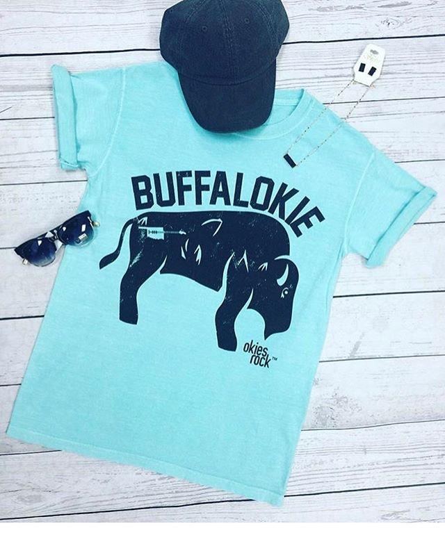 Who all is down with the BuffalOKIE?! #okiesrock #buffalokie