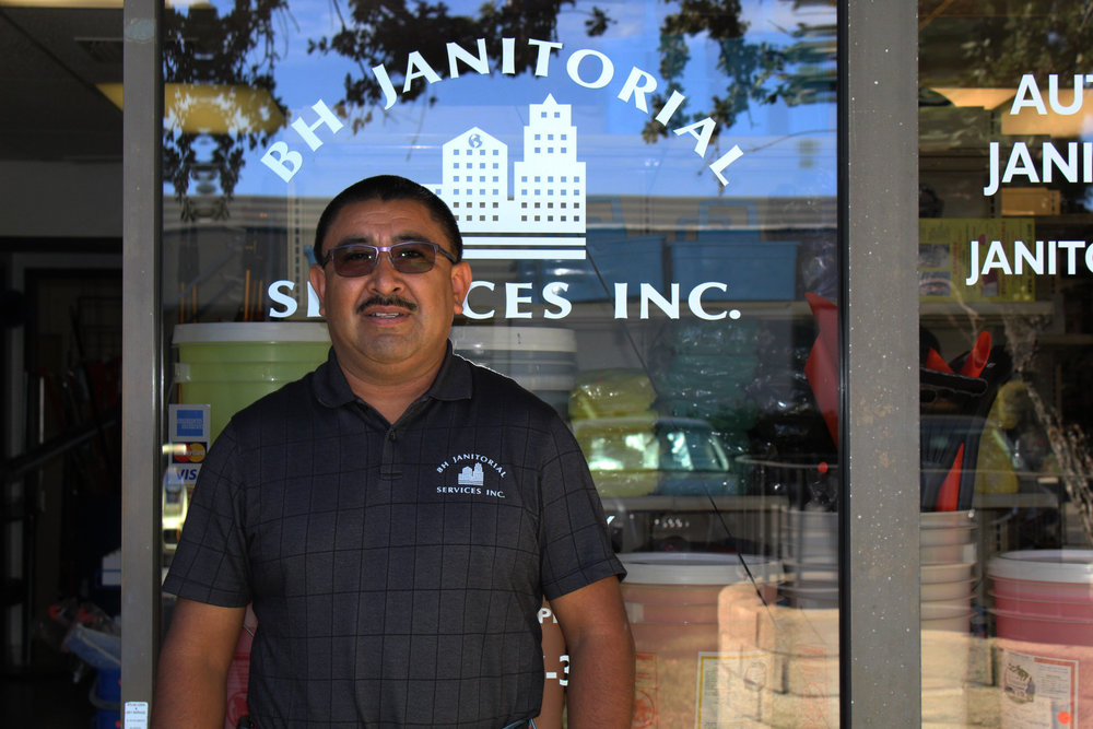 """Baraquiel """"Hector"""" Rodriguez – BH Janitorial Services Owner"""