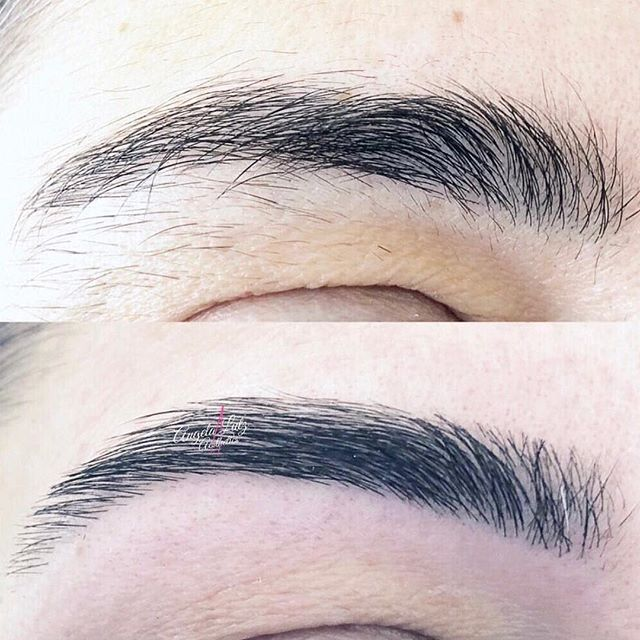 Gorgeous transformation by Angela! Need Super Bowl brows? We have just a few appointments left this week!