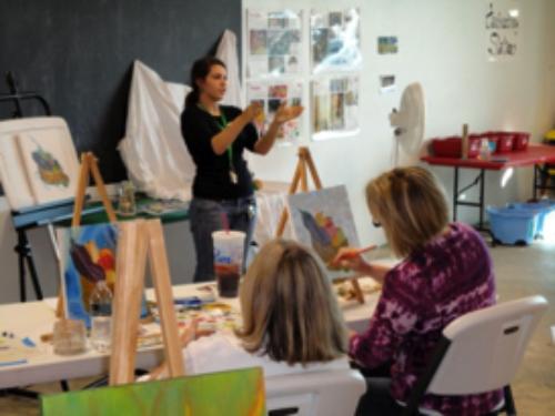 Studio Art Classes | Sculpting and Painting Classes | Baton
