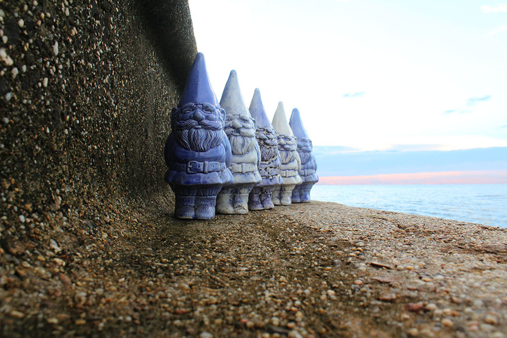 "Brumfield's ""The Blue Gnome Brigade"""